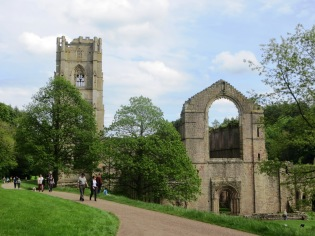 Fountains Abbey Ripon Yorkshire