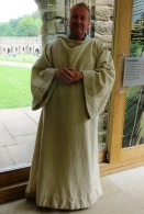 Benedictine Monk Fountains Abbey Yorkshire
