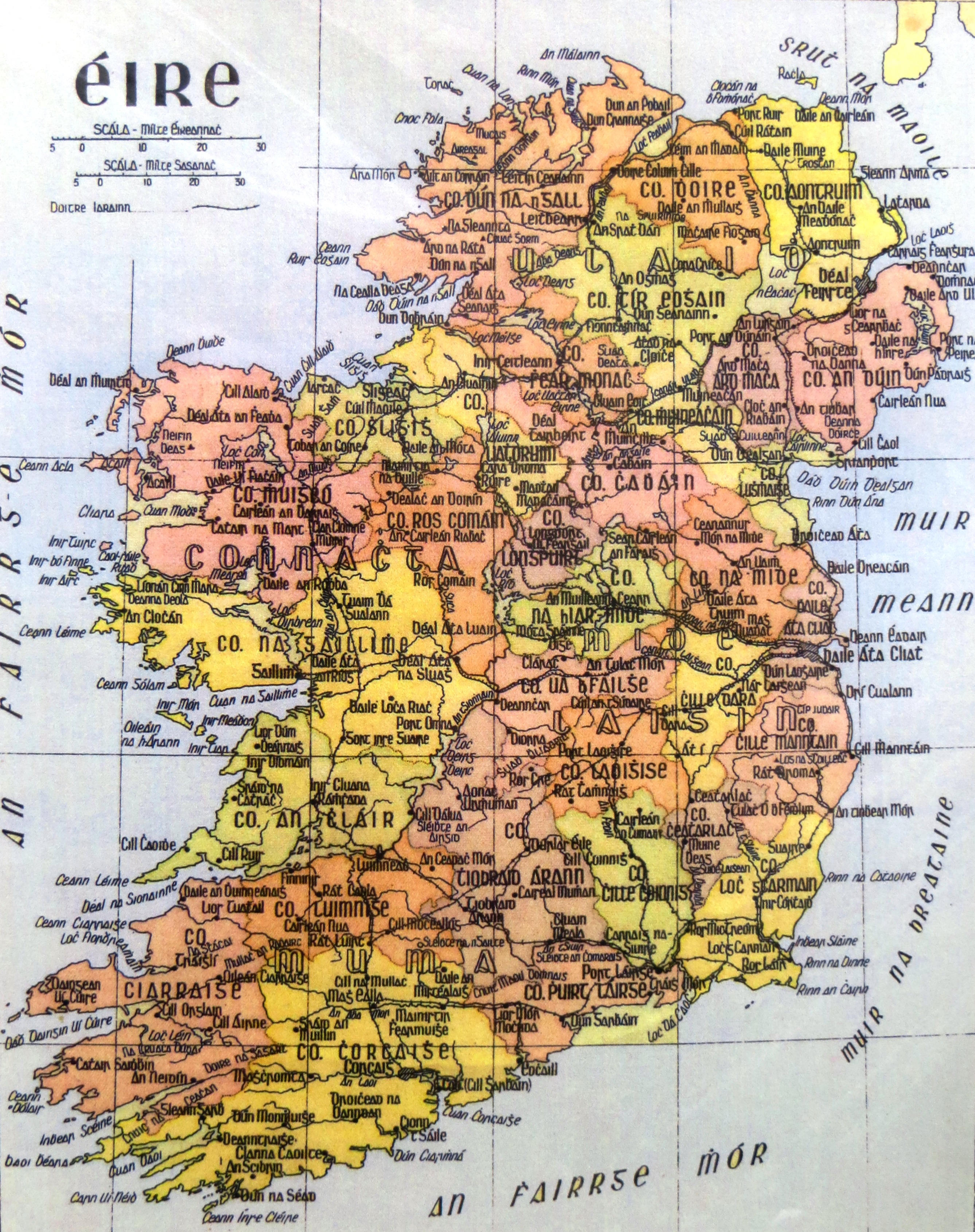 Ireland Preparation and Statistics – Travel Map of Ireland