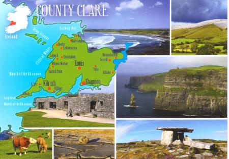 County Clare Postcard