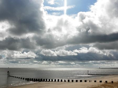 Cleethorpes Cloudy Sky