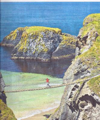 Carrick a Rede Rope Bridge Northern Ireland