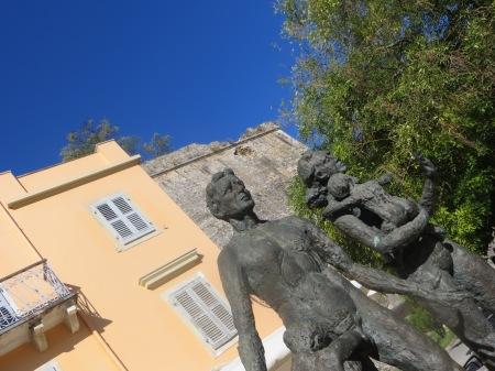 Jewish memorial Corfu Town