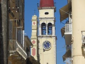 Saint Spyirdon Corfu Greece