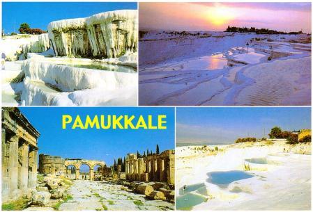 Pamukkale Post Card