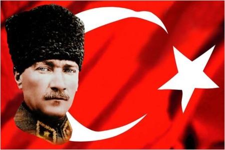 Kemal Ataturk Postcard