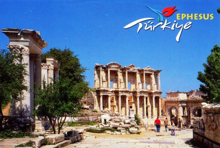 TURKEY - Ephesus - The Library of Celsus