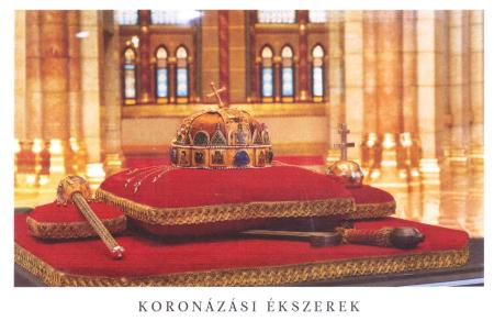 The Holy Crown of St Stephen Budapest