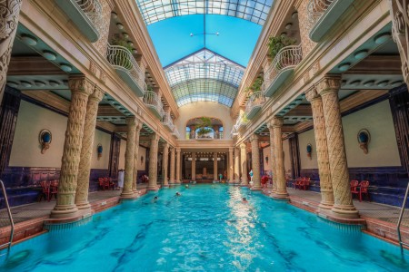 Gellert Spa Swimming Pool