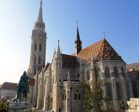 Budapest Hungary Cathedral