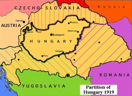 Partition of Hungary 1919