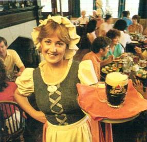 EPCOT UK Barmaid