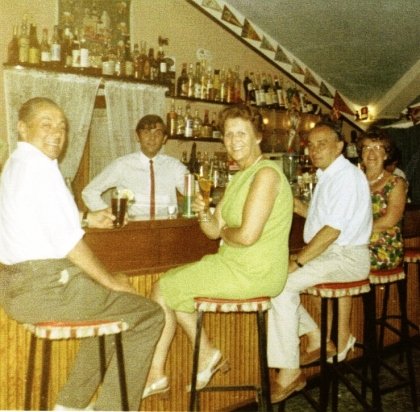 Benidorm Bar 1960?