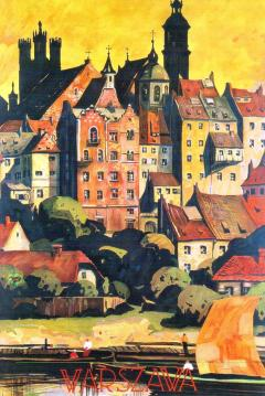 Warsaw and the Vistula