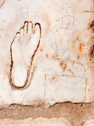 Ephesus Brothel Sign