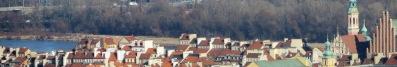Warsaw Old Town skyline