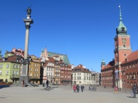 Warsaw Old Town and Royal castle