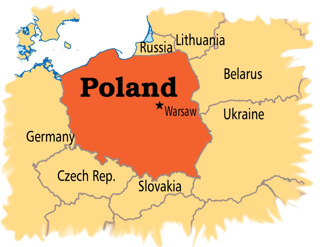Map Of Poland Have Bag Will Travel - Poland map