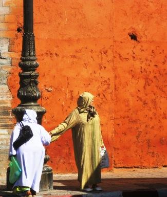 Orange Wall Marrakech