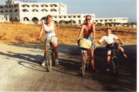 Bike Hire Kos 1989