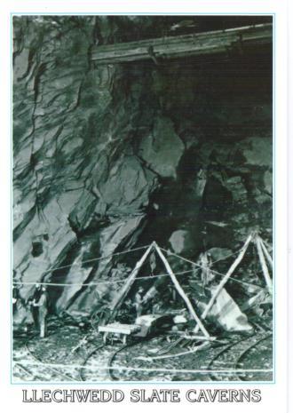 Llechwedd Slate Cavern