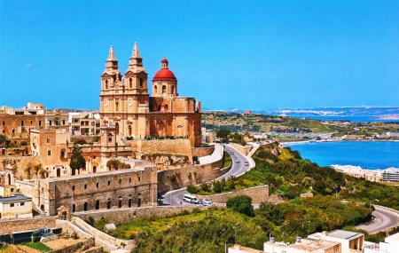 Mellieha Malta Postcard
