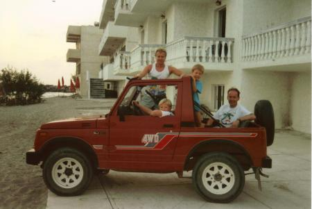 Kos Car Hire 1989
