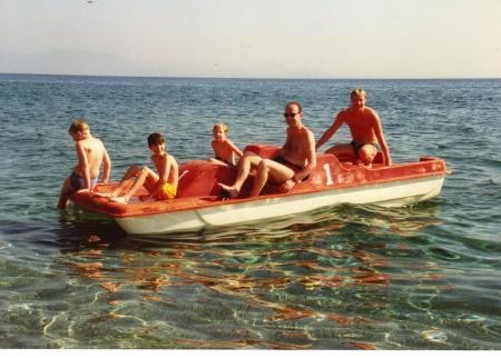 Pedalo Hire Kos 1989