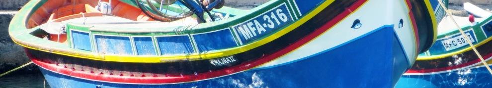 Luzo Fishing Boat Gozo