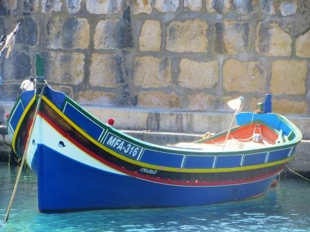 Luzo Fishing Boat Gozo Malta