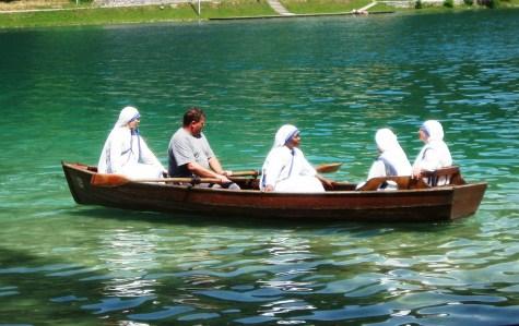 Lake Bled Nuns