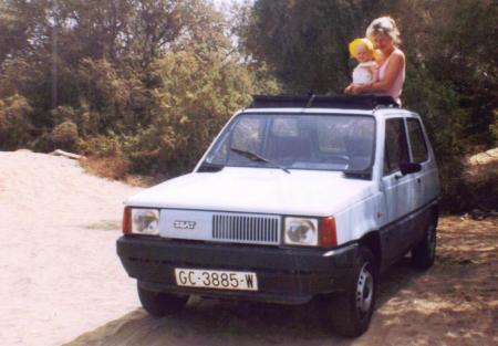 Car Hire Gran Canaria 1986
