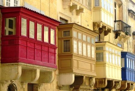 Valletta Balconies