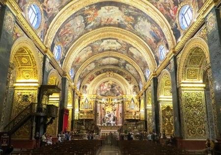 Malta Valletta St Johns Cathedral