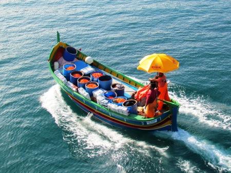 Malta Luzzo Working Boat