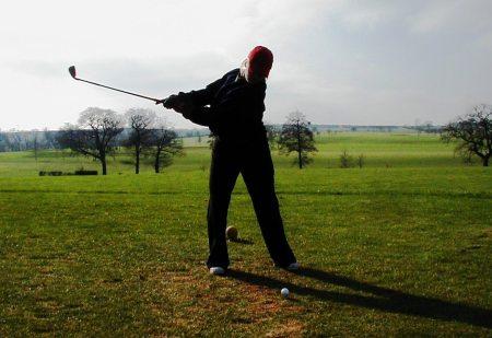 Classic Golf Tee Shot