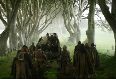 Game of Thrones Dark Hedges