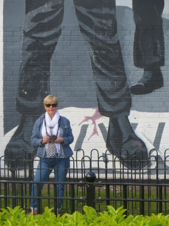 Londonderry Bloody Sunday Wall Mural