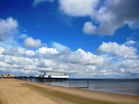 Cleethorpes Lincolnshire Clouds