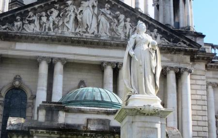 Queen Victoria Belfast City Hall