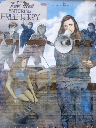 Londonderry/Derry Wall Mural