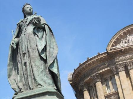 Queen Victoria Birmingham UK