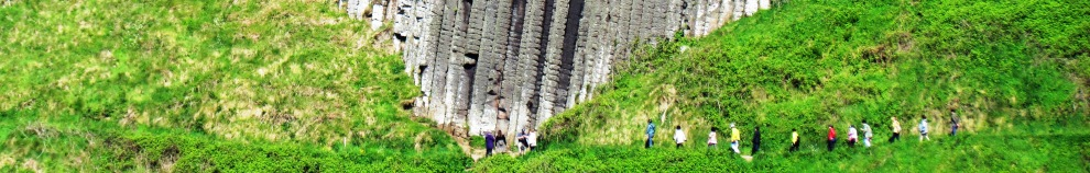 Giant's Causeway visitors