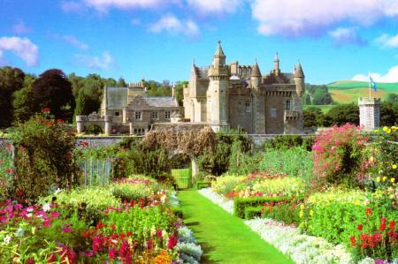 Abbotsford House Galashiels Scotland