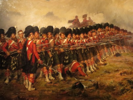 Scotlan Highland Soldiers The Thin Red Line
