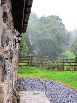 Heavy Rain in Wales