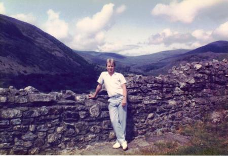 Castell y Bere Wales 1985