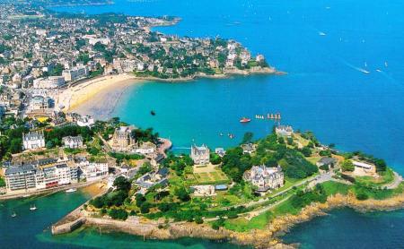 Dinard, Brittany, France