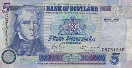 Walter Scott bank note