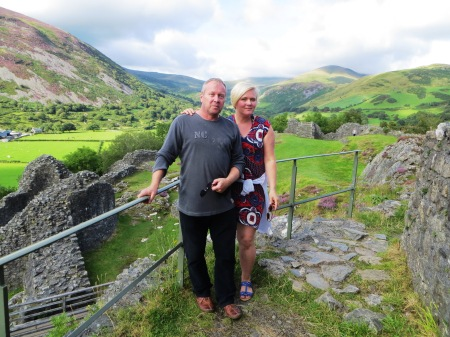 castell y bere Wales